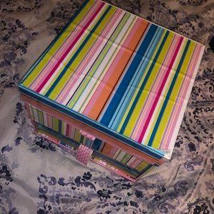 Colorful jewelry box